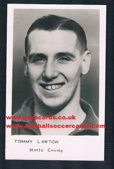 1950 Sportfoto Tommy Lawton NOTTS CO